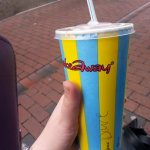 It would be rude to go to Reading and not have a Shakeaways - of course I had a Dave, as I always do!