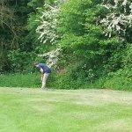 A fun day 'playing' golf