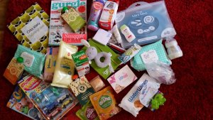 Bits and pieces from goody bags and freebies!