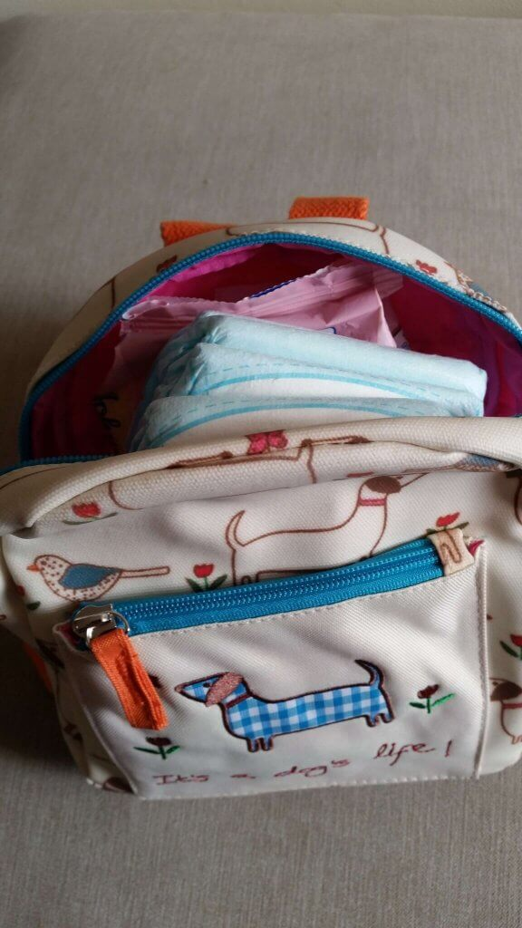 Review Pink Lining Mini Rucksack It's A Dog's Life