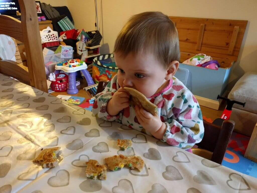 Family Friendly Recipes - Pea and Sweetcorn Pancakes