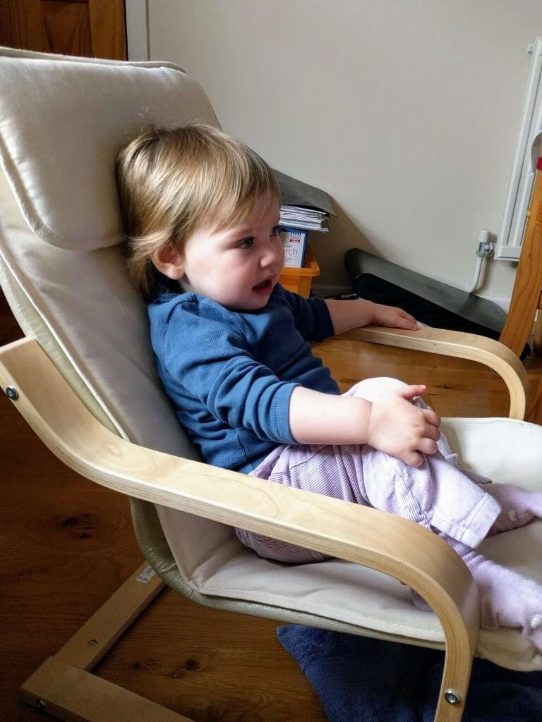 Isla Jean at 18 months