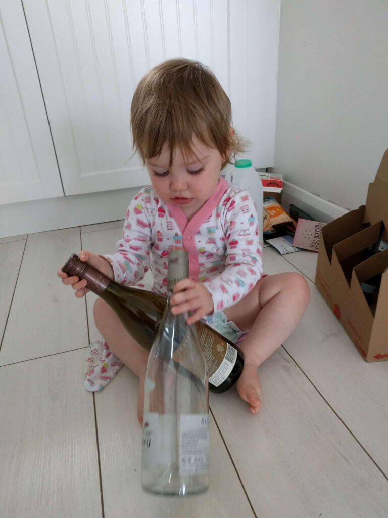 Isla Jean at 18 months