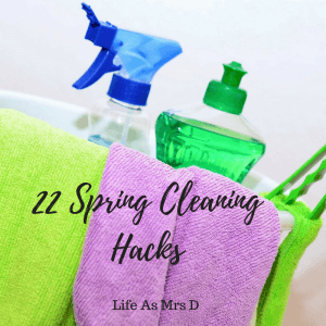 22 Spring Cleaning Hacks