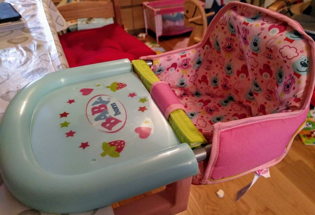 Review: BABY born table feeding chair