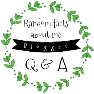 Random Facts About Me blogger Q&A