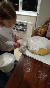 Make and decorate a Christmas cake #101in1001 #33